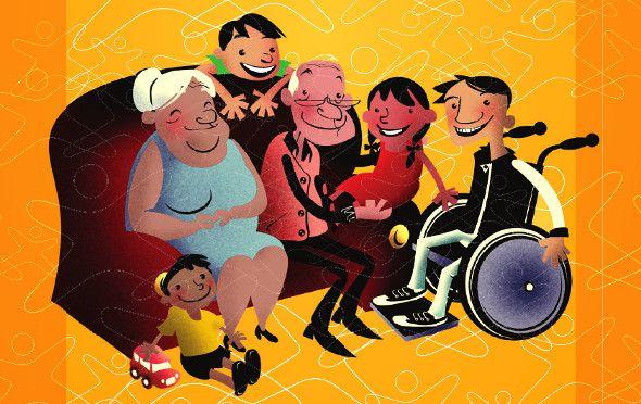 Resultado de imagem para Benefício assistencial ao idoso e à pessoa com deficiência (BPC)